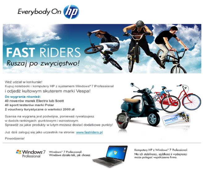 Fast Riders HP