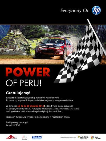 Power of Peru