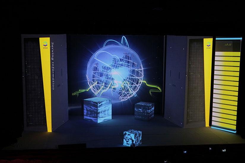 Pokaz 3D mappingu