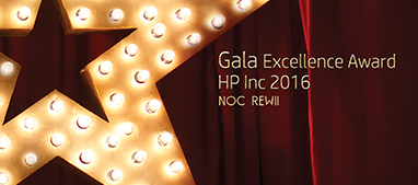 Gala Excellence Award HP Inc 2016